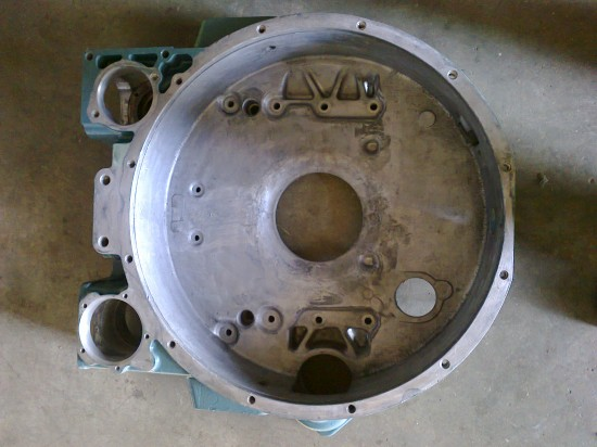 Mercedes V engine flywheel housing